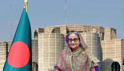 Sheikh Hasina attends Chinese conference via video conferene