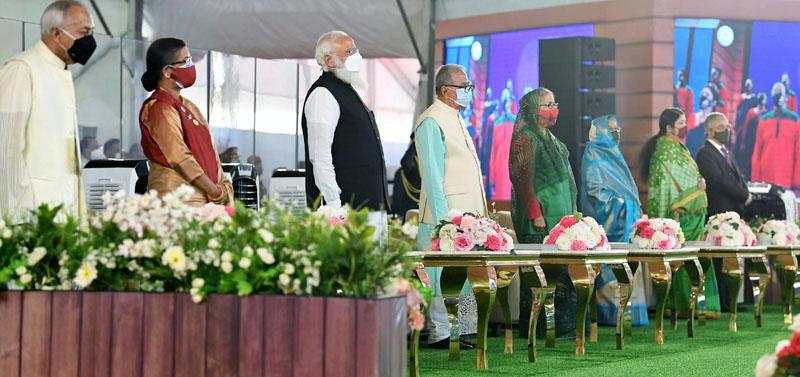Mujib Borsho: Narendra Modi in Bangladesh