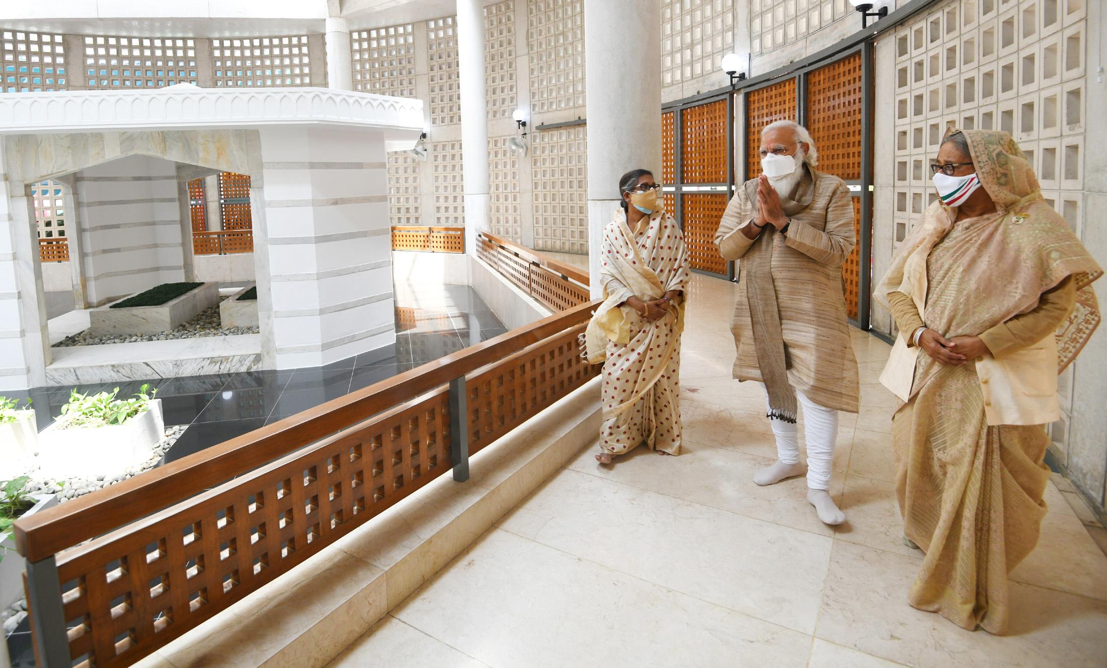 Narendra Modi in Bangladesh: Glimpses of Second Day